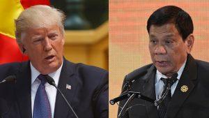 Tổng thống Philippines khen ngợi Tổng thống Donald Trump