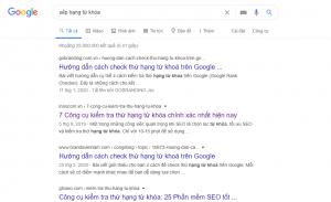5 cách để check thứ hạng từ khóa Google
