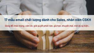 Chia sẻ 17 mẫu Email hiệu quả dành cho sale, marketing, CKSH mới nhất 2020