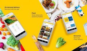 Các ứng dụng đặt đồ ăn nhanh tại Philippines