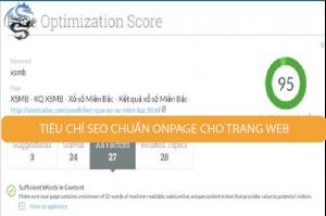 Tool seo chuẩn SEO và cho điểm, trên 90 điểm bạn thực hiện Onpage rất tốt